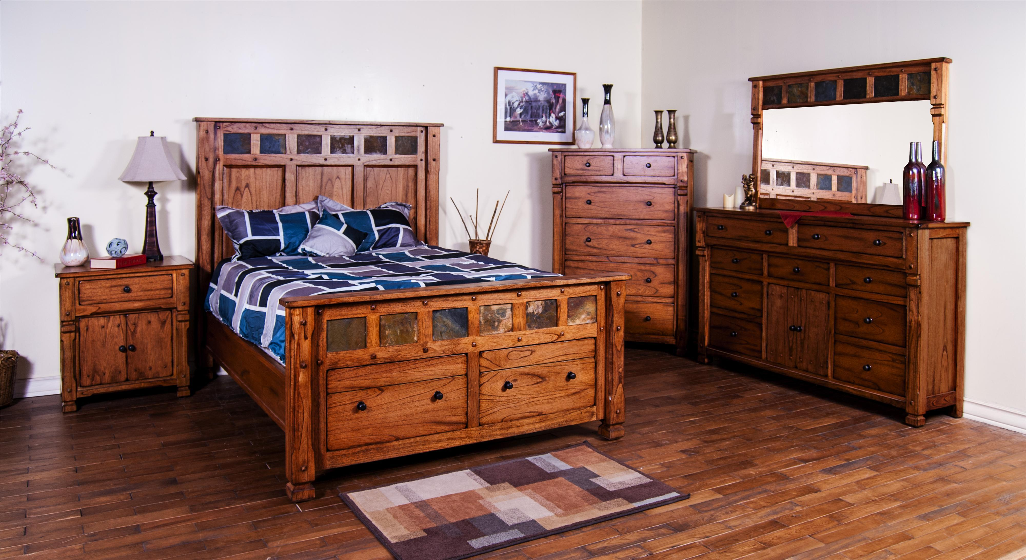 Sedona King Bedroom Group by Sunny Designs at Sparks HomeStore