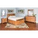 Sunny Designs Sedona Queen Bedroom Group - Item Number: RO Q Bedroom Group 4