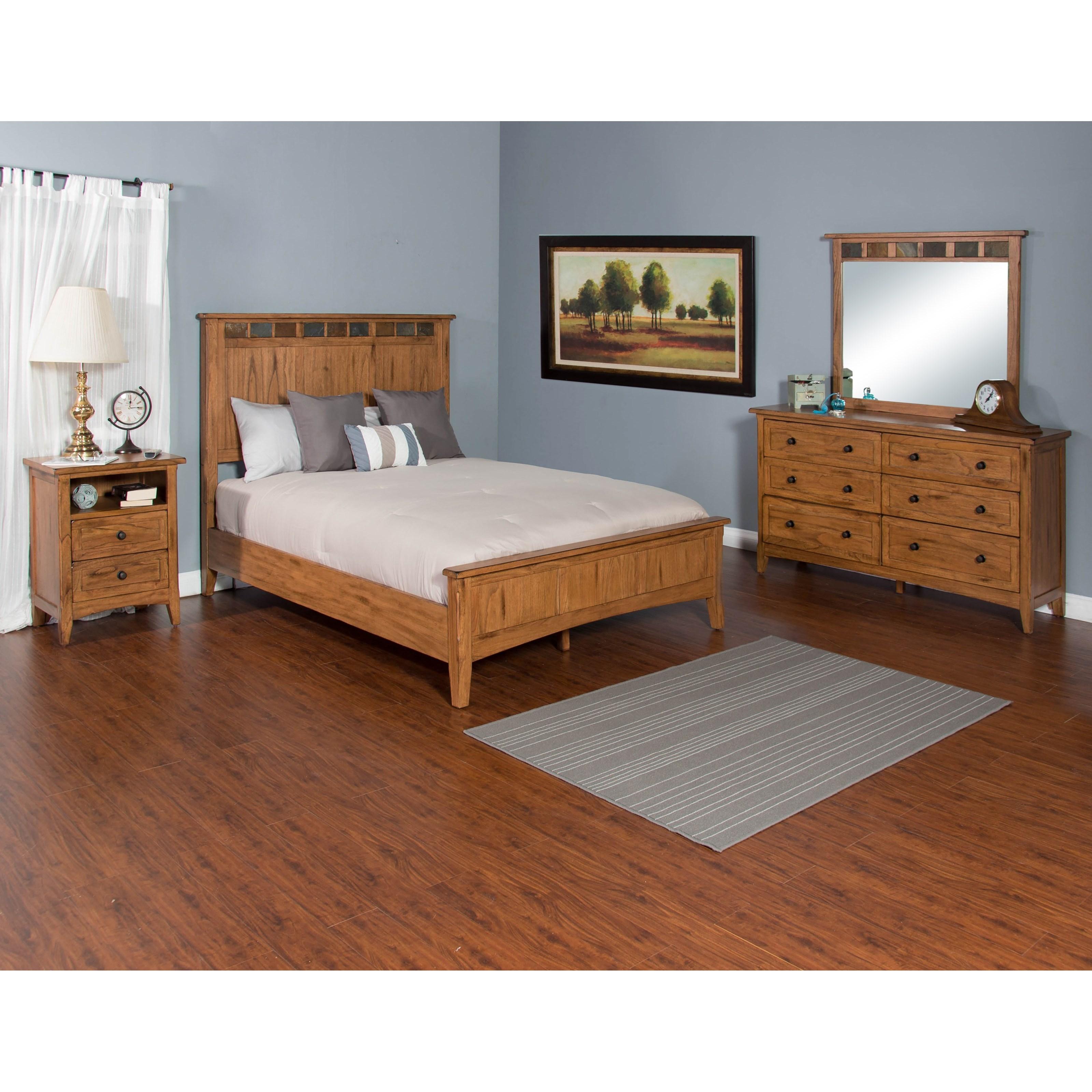 Sunny Designs Sedona Queen Bedroom Group | John V Schultz ...