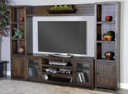 Thatcher Thatcher Entertainment Center by Sunny Designs at Morris Home