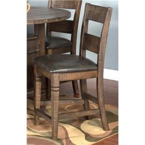 "Morris Home Furnishings Thatcher Thatcher 24"" Counter Barstool"