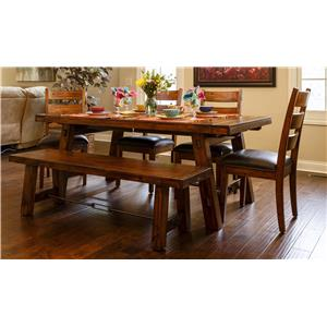 Morris Home Furnishings Tremont Tremont 5-Piece Dining Set