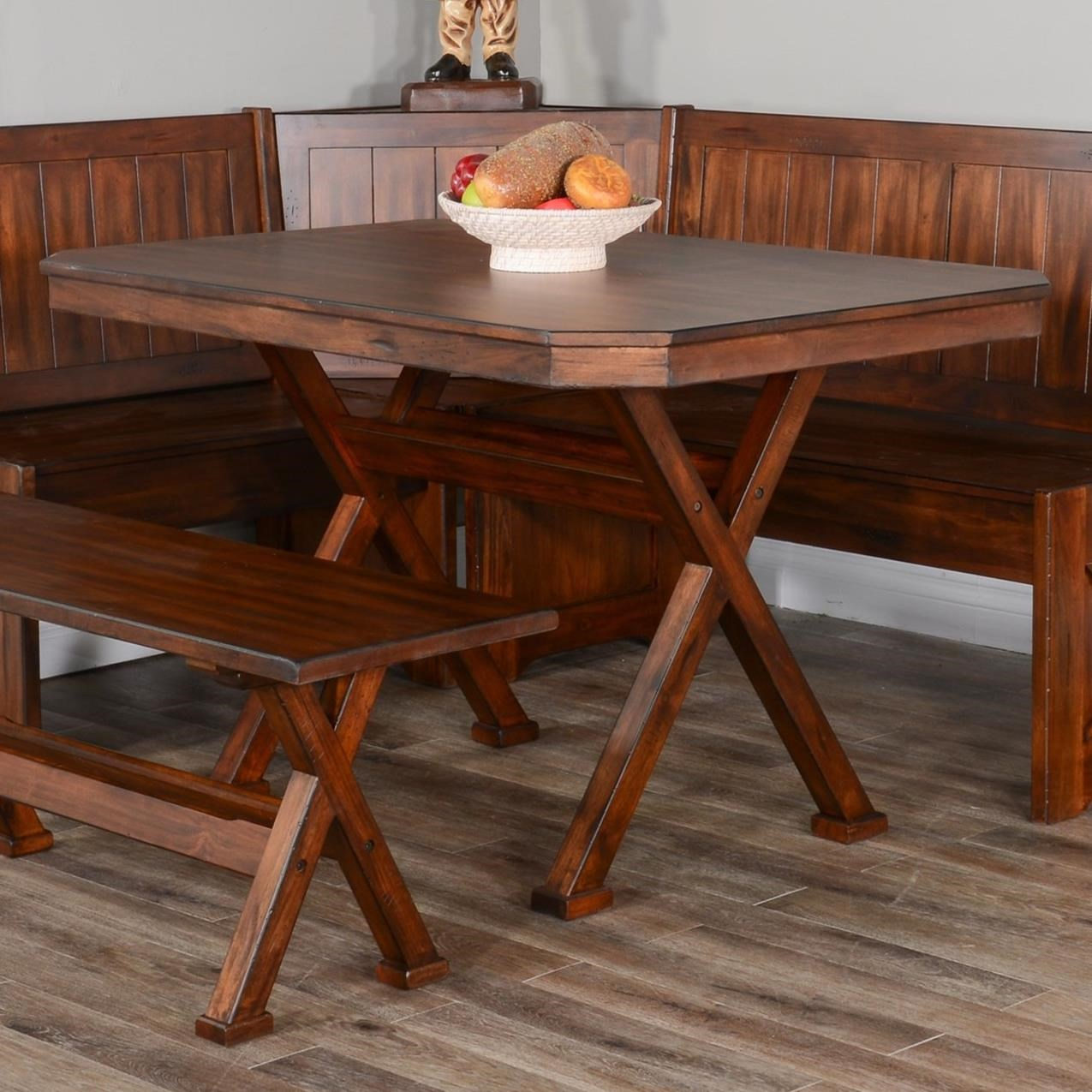 Sunny Designs Tuscany Table w/ X-Base | Conlin's Furniture ...