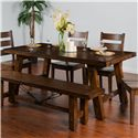 Sunny Designs Tuscany Extension Table w/ Turnbuckle - Item Number: 1380VM
