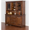 Sunny Designs Tuscany Buffet & Hutch - Item Number: 2428VM-B+H