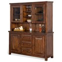 Sunny Designs Tuscany Buffet & Hutch - Item Number: 2428VM-B+H
