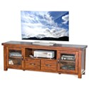 "Sunny Designs Tuscany 74"" TV Console - Item Number: 3609VM-74"