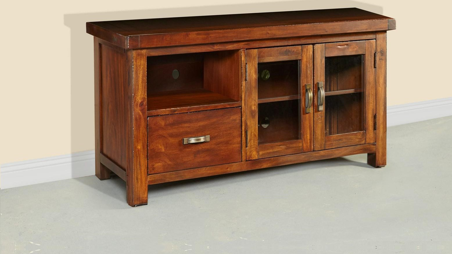 """54"""" All Wood TV Console"""