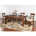Sunny Designs Tuscany 5 Piece Dining Set - Item Number: D161316-5PC