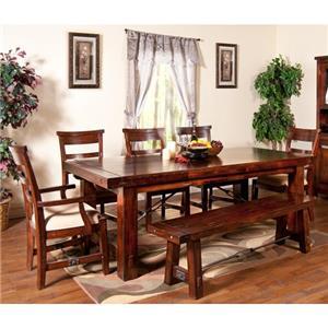 Sunny Designs Vineyard 7-Piece Dining Set