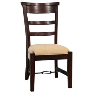 Sunny Designs Vineyard Ladder-Back Dining Side Chair