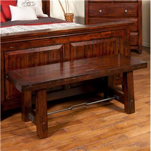 Sunny Designs Vineyard Bedroom Bench