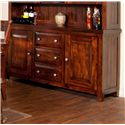 Sunny Designs Vineyard Buffet - Item Number: 2428RM-B