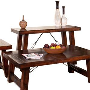 Sunny Designs Vineyard Sofa/Console Table