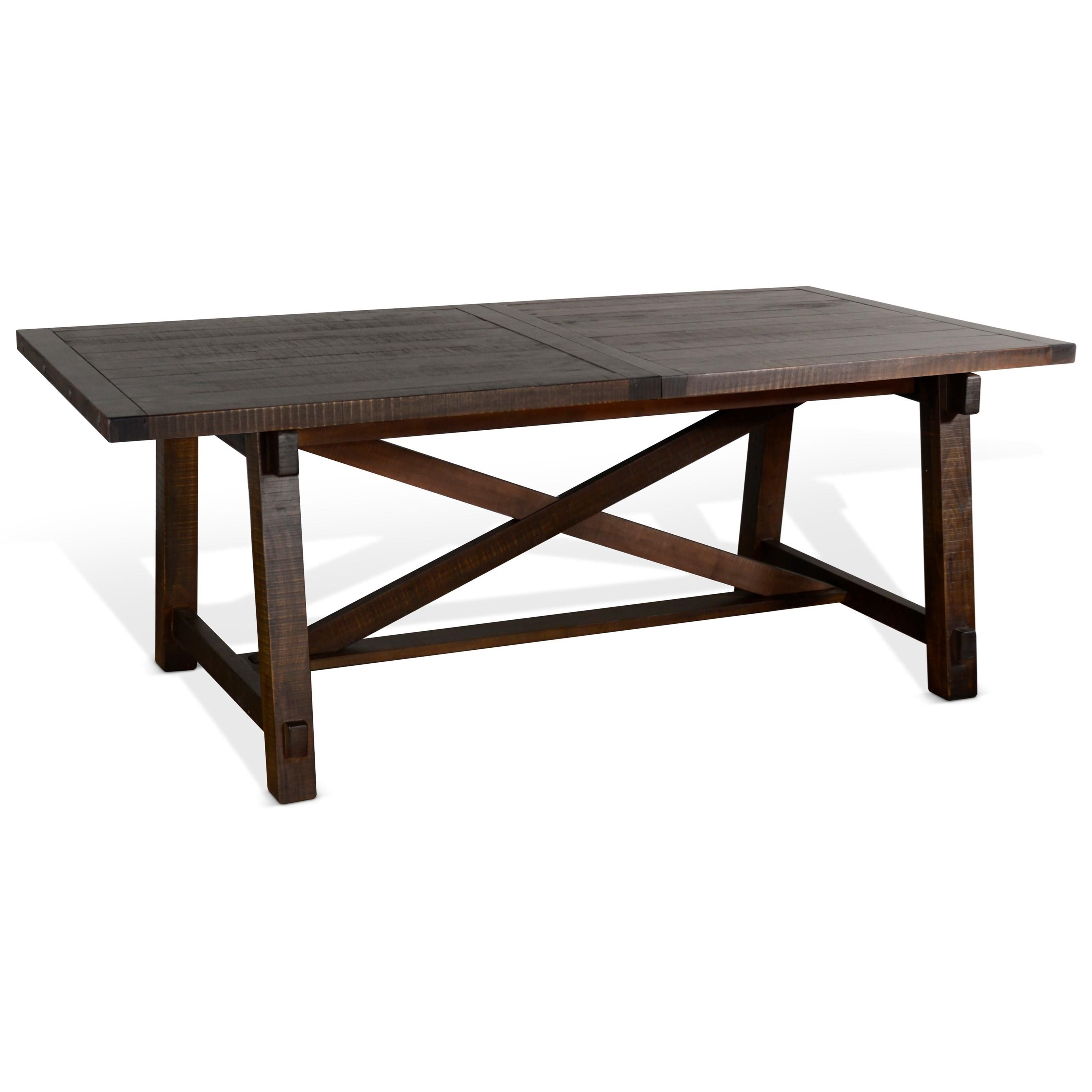 Vivi Extension Table by Sunny Designs at Morris Home