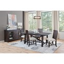 Sunny Designs Vivian Casual Dining Room Group - Item Number: RN Dining Room Group 1