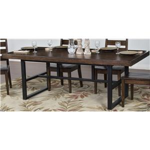 Morris Home Furnishings Wellman Wellman Dining Table
