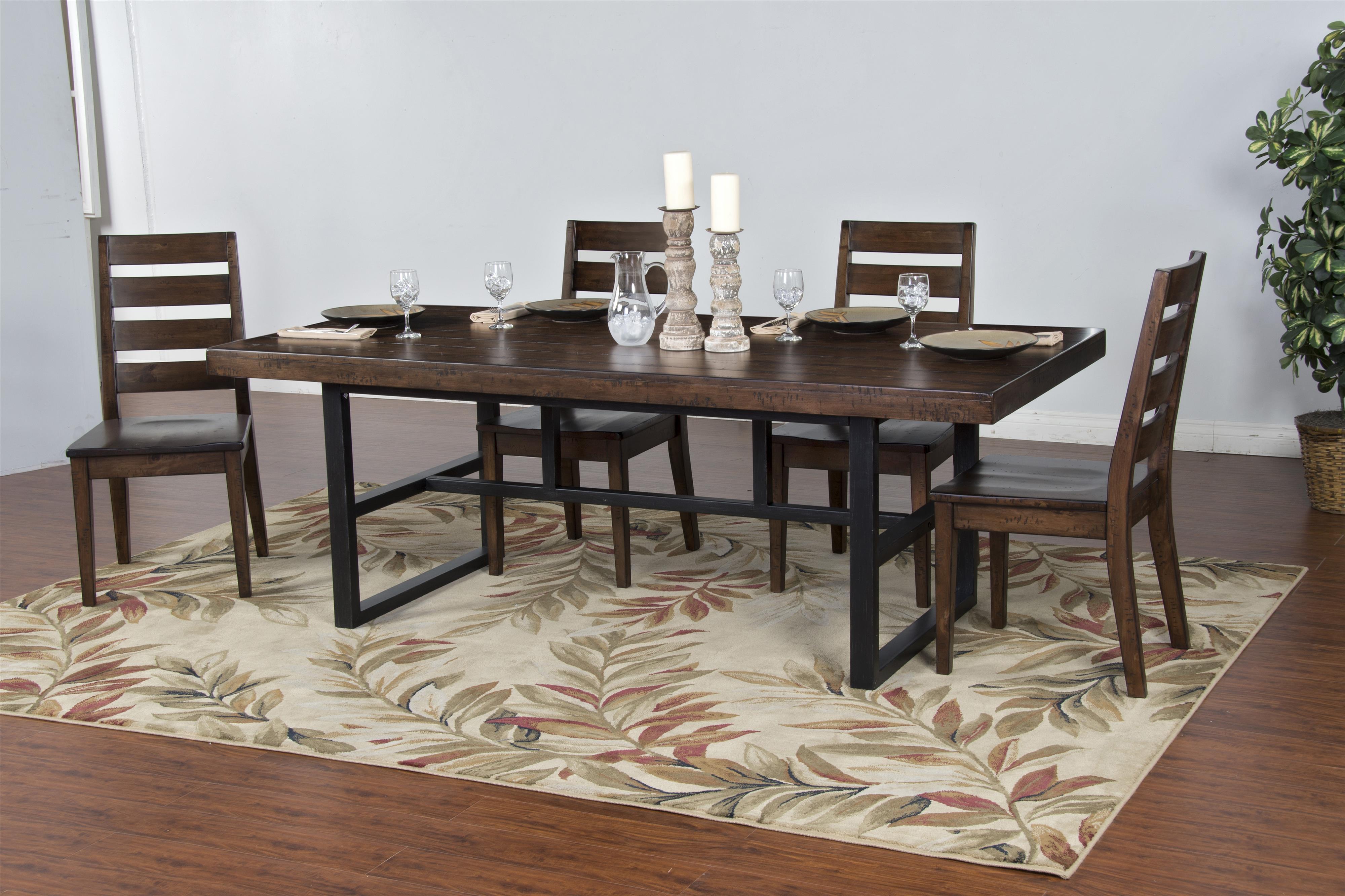 Morris Home Furnishings Wellman Wellman 5-Piece Dining Set - Item Number: 388833292