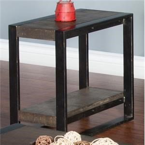Morris Home Furnishings Wessington Wessington Chair Side Table