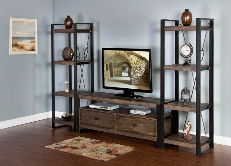 "Morris Home Furnishings Wessington Wessington 54"" Console and Piers - Item Number: 271967373"