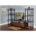 """Morris Home Furnishings Wessington Wessington 64"""" Console and Piers - Item Number: 450888236"""