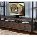 "Morris Home Furnishings Wessington Wessington 78"" Console - Item Number: 706951467"