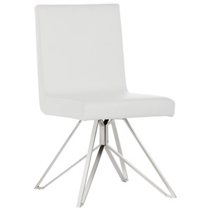 Sunpan Imports Ikon Clouse Swivel Dining Chair