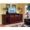 Sunrise Home Furnishings Alexandria  Three Piece Wall Unit with Left and RIght Pier
