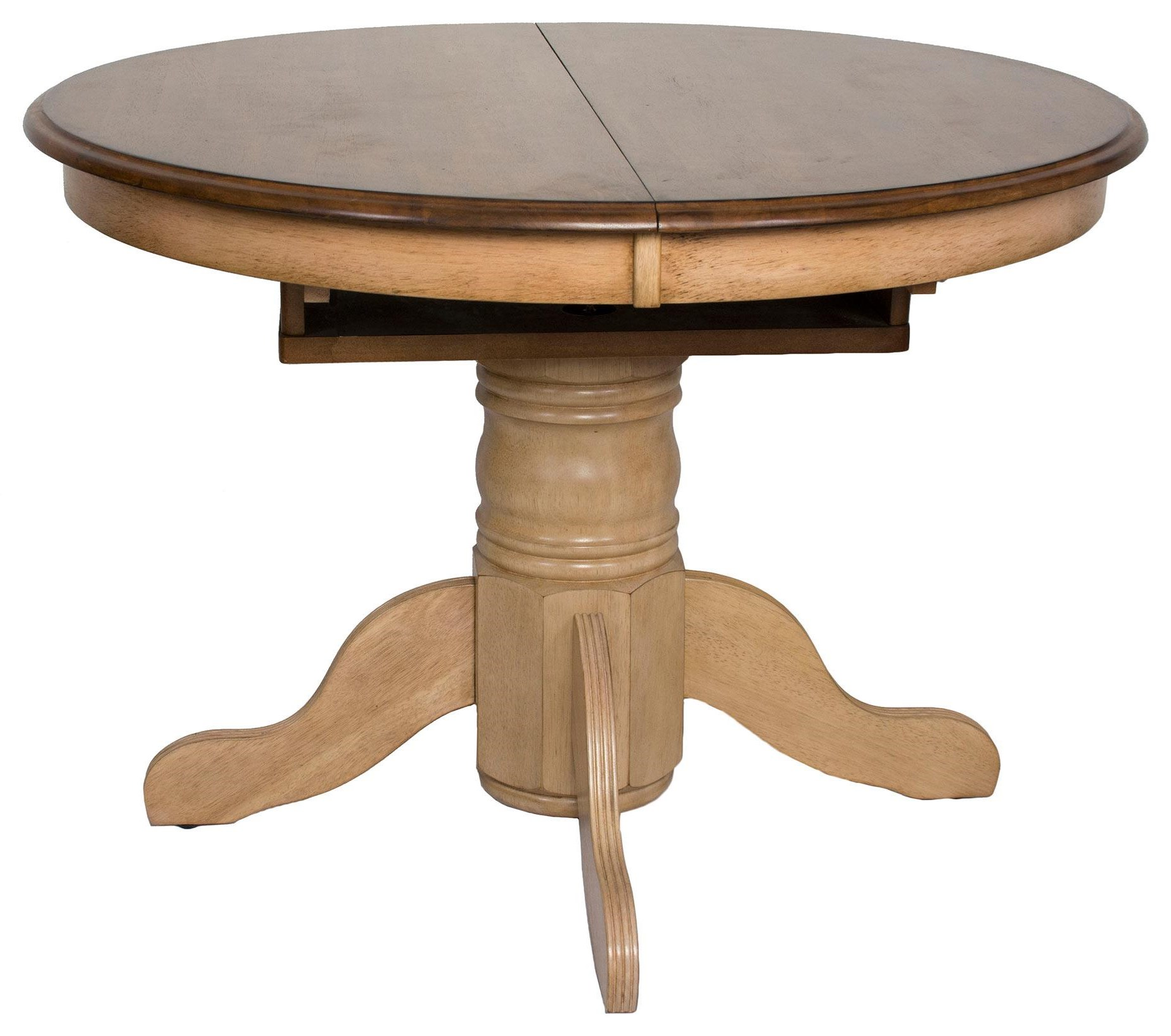 Round or Oval Pedestal Table