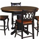 Sunset Trading Co. Sunset Selections Cafe Height Dining Table - Item Number: DLU-TBX-4266-CAFÉ SET- BCH