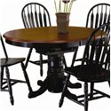 Sunset Trading Co. Sunset Selections Dining Table - Item Number: DLU-TBX-4266-SET-BCH