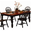 Sunset Trading Co. Sunset Selections Leg Dining Table - Item Number: SUN-SLT-4272-BCH