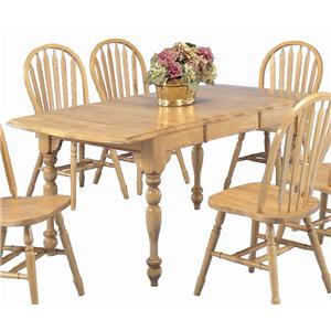 Sunset Trading Co. Sunset Selections Dining Table with Drop Leaves