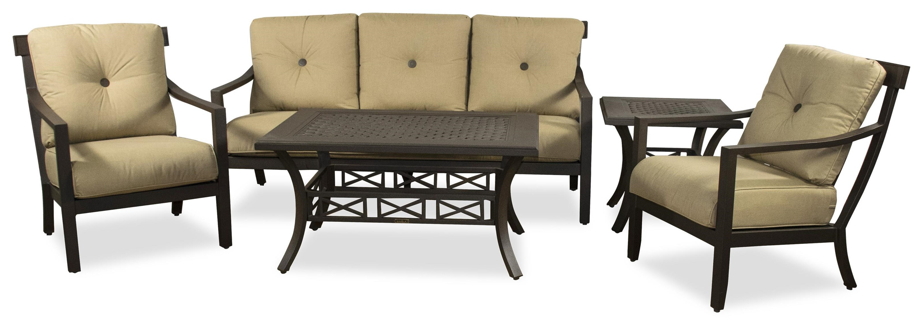 Sofa, 2 Chairs, End Table, Cocktail Table