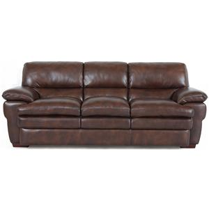 Superb Creations 7454 Leather Sofa