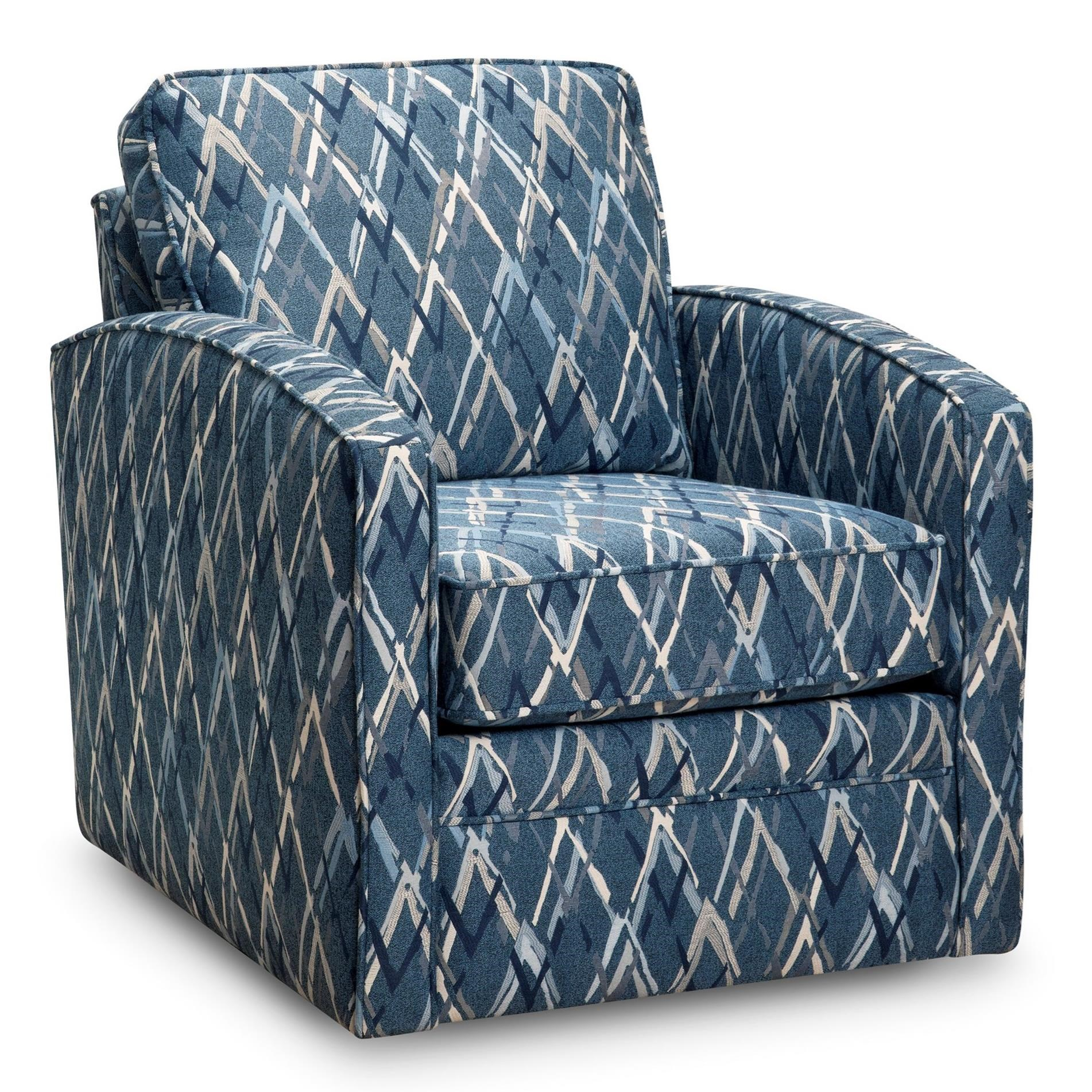 37 Swivel Chair by Superstyle at Jordan's Home Furnishings