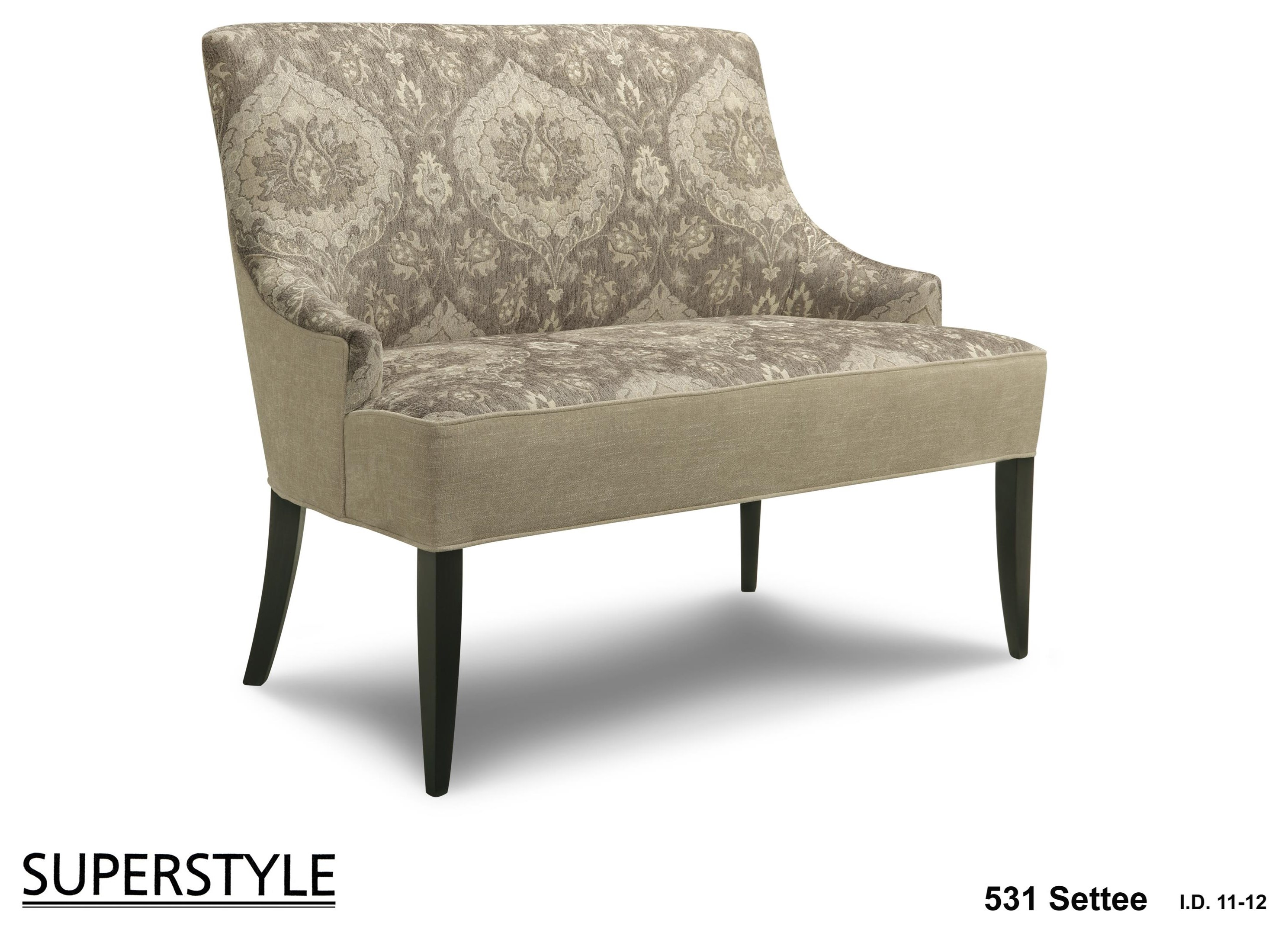 531 Settee by Superstyle at Stoney Creek Furniture