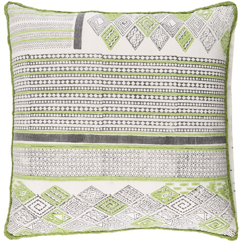Aba Pillow by Surya at Upper Room Home Furnishings