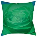 Surya Abstract Floral Pillow - Item Number: AF005-2222