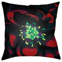 Surya Abstract Floral Pillow - Item Number: AF009-1818