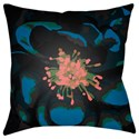 Ruby-Gordon Accents Abstract Floral Pillow - Item Number: AF010-2222