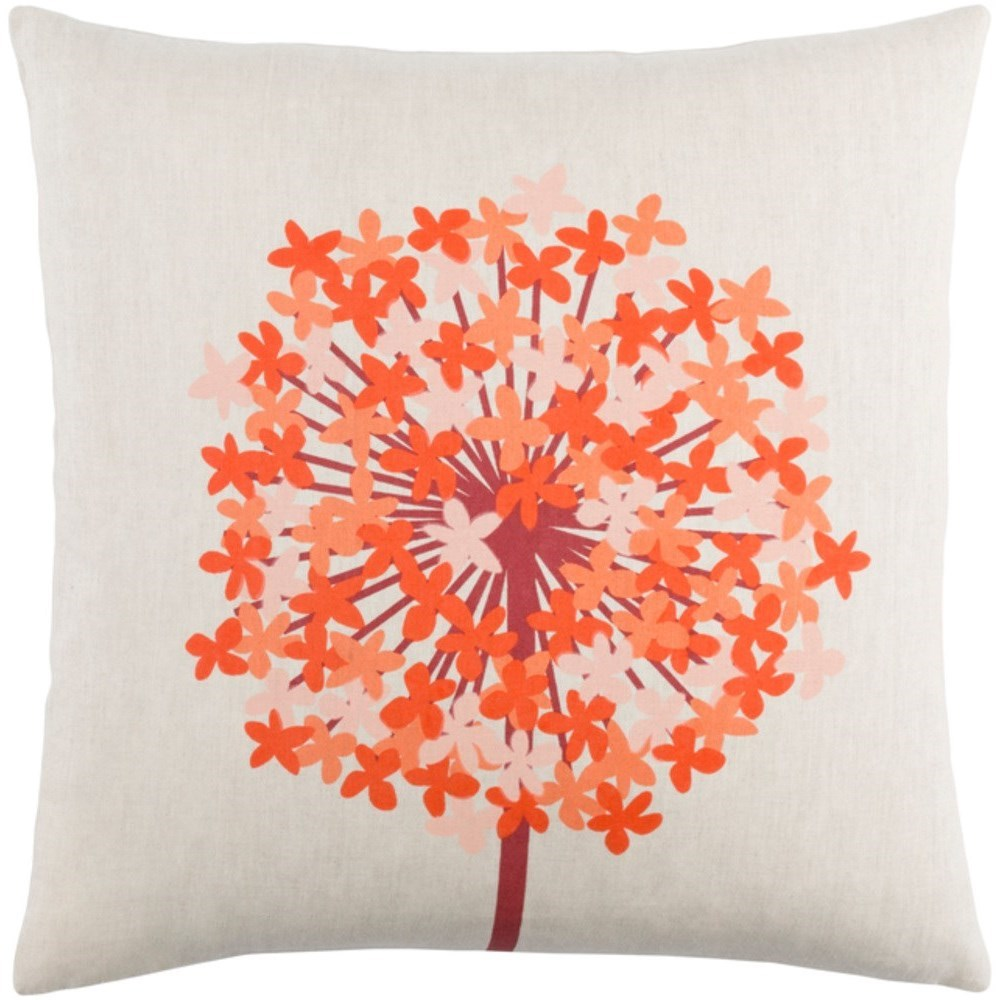 Surya Agapanthus Pillow - Item Number: AP002-1818