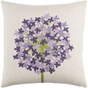 Surya Agapanthus Pillow - Item Number: AP004-1818