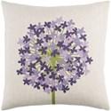 Surya Agapanthus Pillow - Item Number: AP004-2222