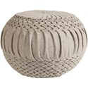 Ruby-Gordon Accents Alana 18 x 18 x 14 Cube Pouf - Item Number: AAPF002-181814