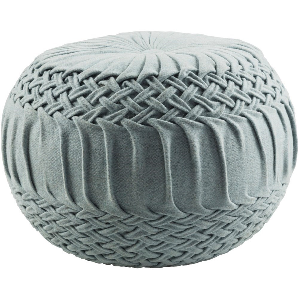 Alana 18 x 18 x 14 Cube Pouf by Ruby-Gordon Accents at Ruby Gordon Home