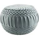 Surya Alana 18 x 18 x 14 Cube Pouf - Item Number: AAPF003-181814