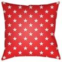 Surya Americana II Pillow - Item Number: SOL005-1818