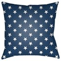 Surya Americana II Pillow - Item Number: SOL006-1818