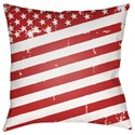Surya Americana III Pillow - Item Number: SOL012-2020